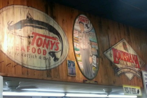 All places in baton rouge touristeye for Tonys fish market