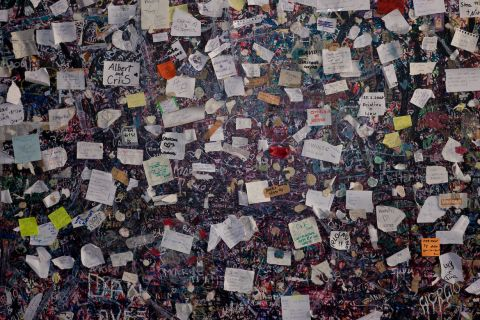 Leave a love message in Juliet´s House