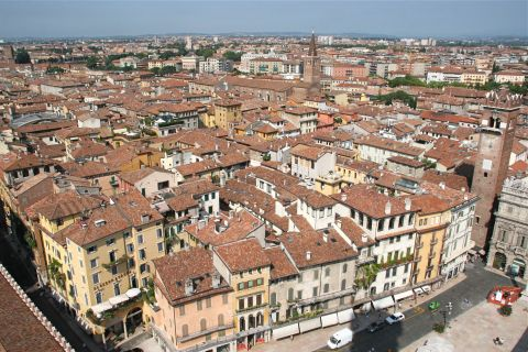 Enjot the view from the Lamberti Tower