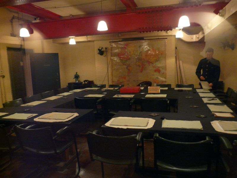 Churchill museum and cabinet war rooms london london england united kingdom touristeye - Churchill war cabinet rooms ...